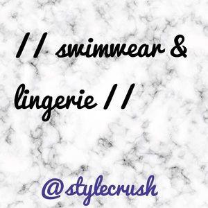 Swimwear & NWT Lingerie